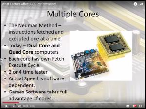 factors affecting-Cpu-performance-Multiple-cores
